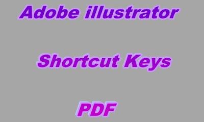 Adobe Illustrator Shortcut Keys PDF