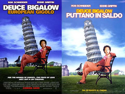 La locandina del film Deuce Bigalow - European gigolo / Puttano in saldo
