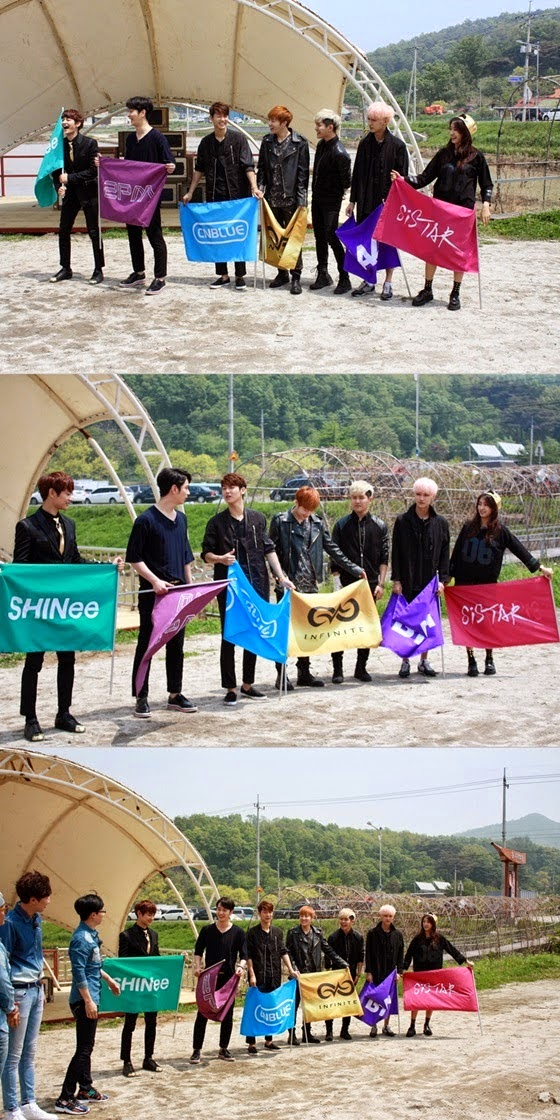 Running Man' team to compete with an idol team on the