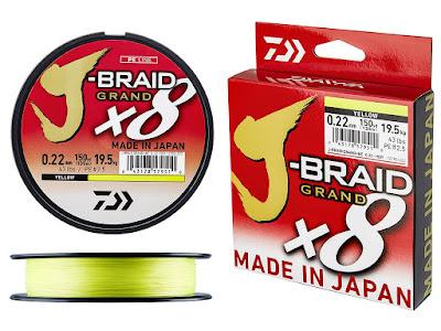 multifilamento JBRAID Grand X8 P123850 - Pesca e considerações