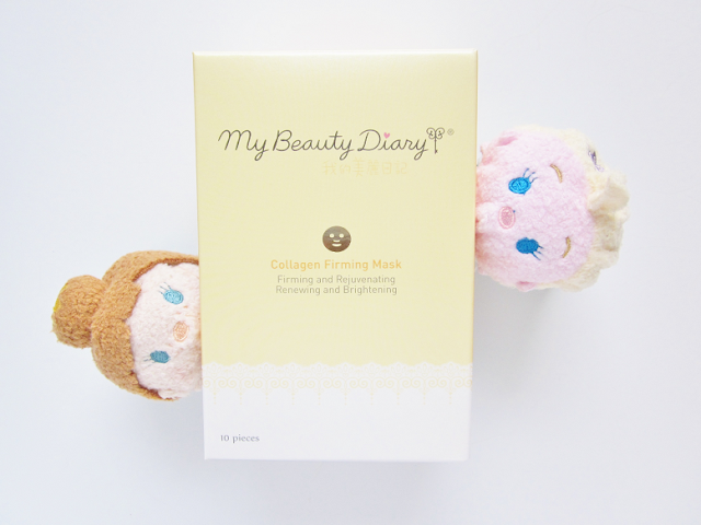 My Beauty Diary Collagen Firming Mask Beauty Review