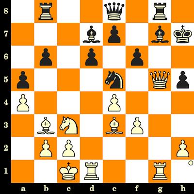 Les Blancs jouent et matent en 3 coups - Christ Papapostolou vs Eliseo Gonzales, Siegen, 1970