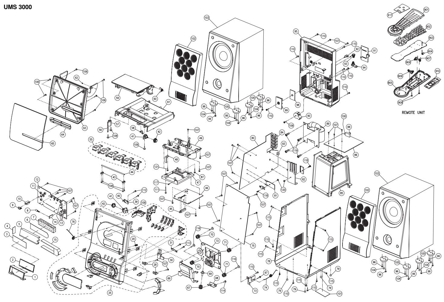 Master Electronics Repair Grundig Ums Glr