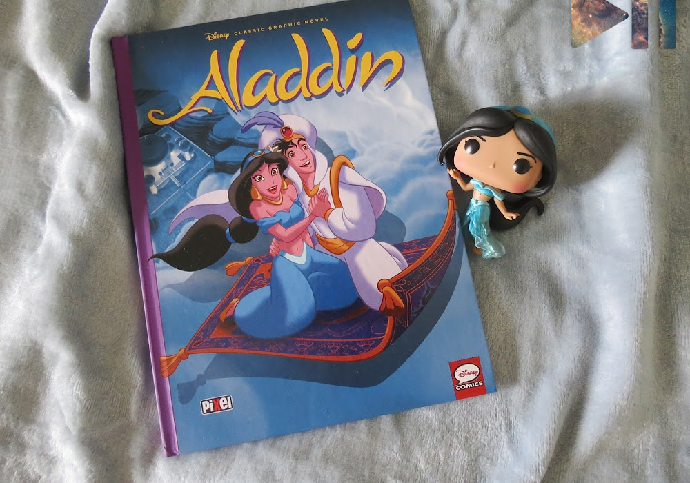 Sexta Geek | Aladdin, a graphic novel da Pixel