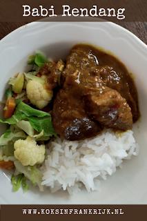 Babi rendang: makkelijk recept voor rendang van varkensvlees.