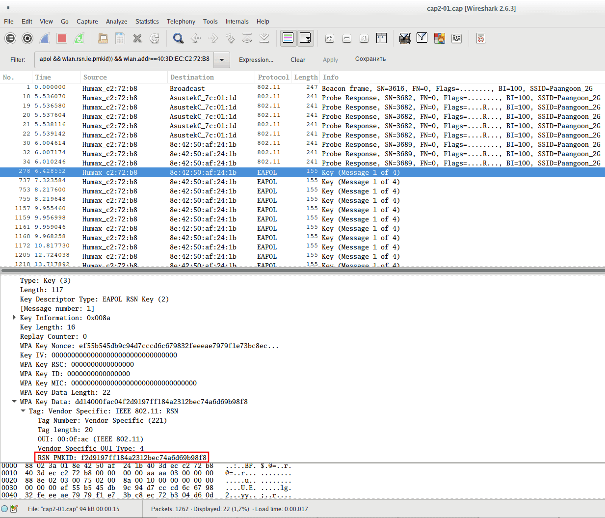 Hacking Wifi using PMKID and Aircrack-ng - KaliTut