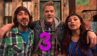 Pentatonix is a capella music group, is another celebrity in the Sesame Street. Sesame Street Episode 4421, The Pogo Games, Season 44.