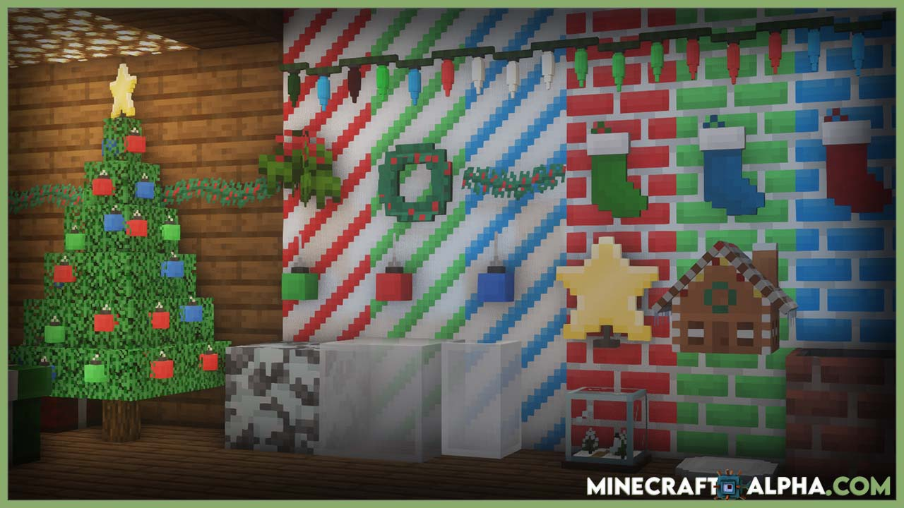 New Xmas Spirit Creation Map For 1.16.5 For Minecraft