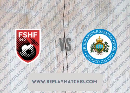 Albania vs San Marino -Highlights 08 September 2021