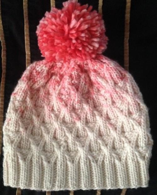 Wickerwork Hat - Free Knitting Pattern