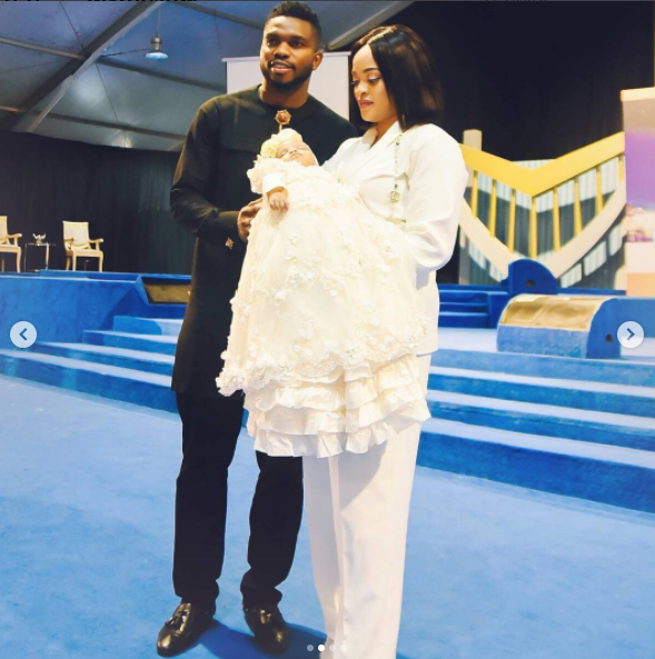 Official photos from Joseph Yobo's daughter's dedication