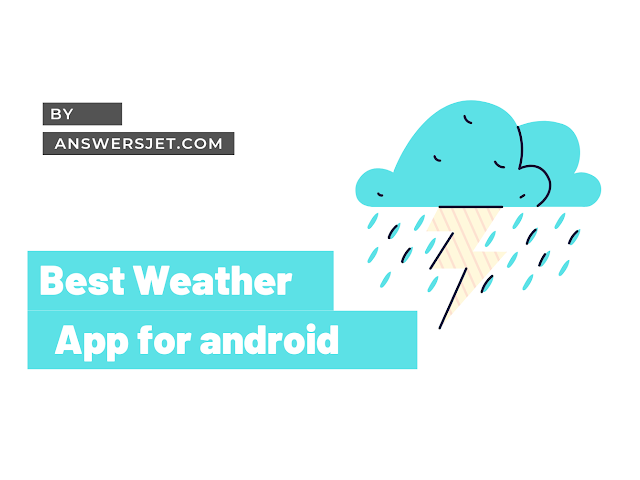 Best Weather App for Android (includes weather widgets)