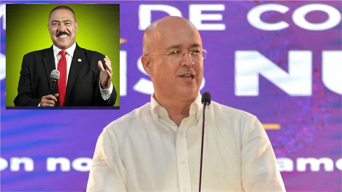 VIDEO: Domínguez Brito anuncia respaldo a candidatura de Polanco para diputado de ultramar
