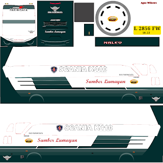 Download Livery Bus Sumber Lumayan HDD