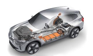 سيارة بي إم دبليو BMW IX3 الكهربائية بي أم بليو BMW IX3 الكهربائية