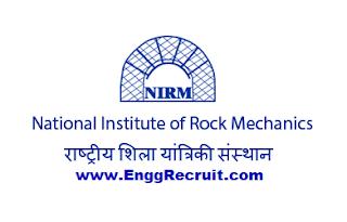 NIRM Recruitment 2018