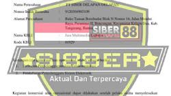 Telah Terbentuk Media Siber88