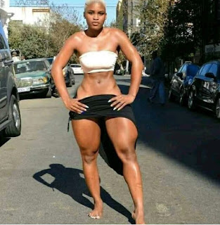 Photo Of The Day: Check Out The Muscles On This Lady