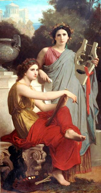 Адольф Вильям Бугро - Искусство и литература (1867)