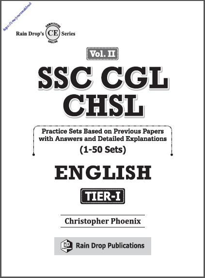 SSC CGL CHSL Vol. II (Tier-I Practice Sets) : For SSC CGL Exams PDF Book