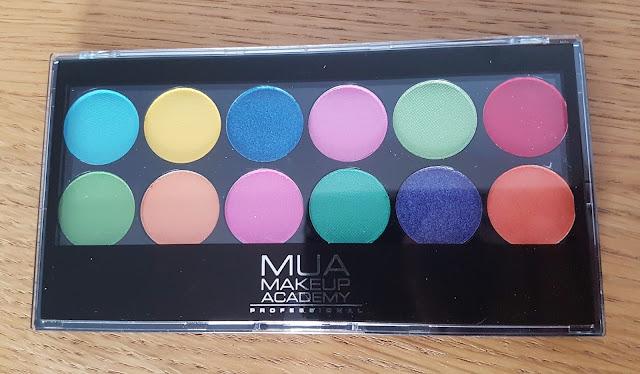 Testing MUA Palettes