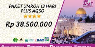 Paket Umroh 13 Hari Plus Aqso  2020