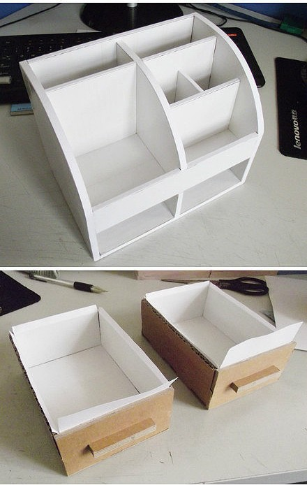 картон, коробки, мастер-класс, органайзер из картона, для канцелярии, для офиса, для детей, подставка для канцелярии, своими руками, мастер-класс,http://prazdnichnyymir.ru/masterskaja-podarkov/11303/organaizery-iz-kartona-svoimi-rukami-0-idei-i-mast/
