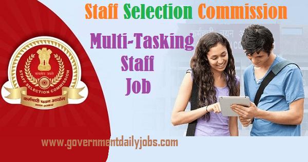 SSC MTS Jobs 2021