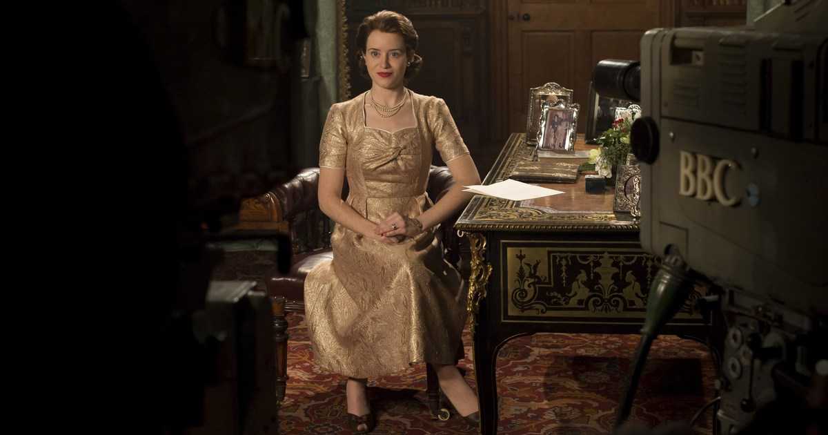 La reina Elizabeth II en la segunda temporada de 'The Crown'