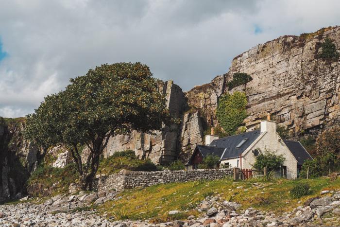 Elgol sur l'île de Skye en Ecosse