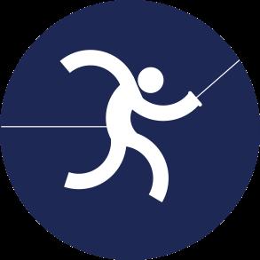 Icon Logo Anggar Asian Games 2018
