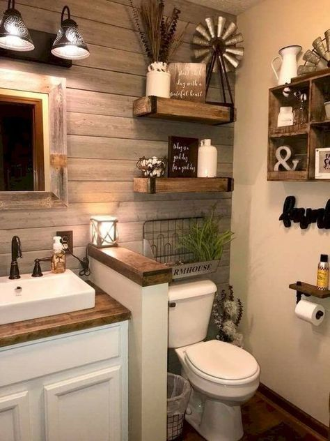 Farmhouse Bathroom Remodel Ideas