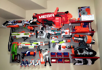 Nerf Gun Pegboard Rack Pegboard for Nerf Guns Photo Contest Winner