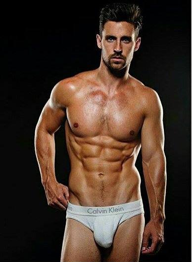 Hunksinspeedos Supermodel Male Model Tyler Lough In His Underwear Briefs Boxers