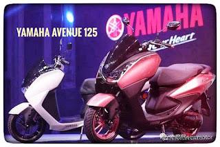 Yamaha avenue 125 cina