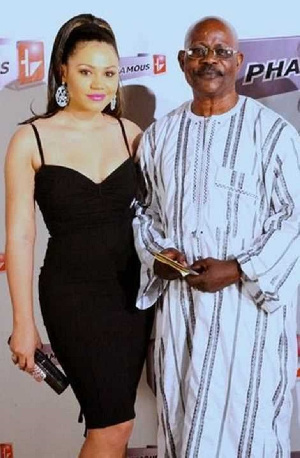 You create confusion between families - Nadia Buari's father blasts journalist