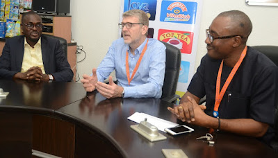Quill Awards Winner visits Promasidor, Applauds Thomson Foundation Course