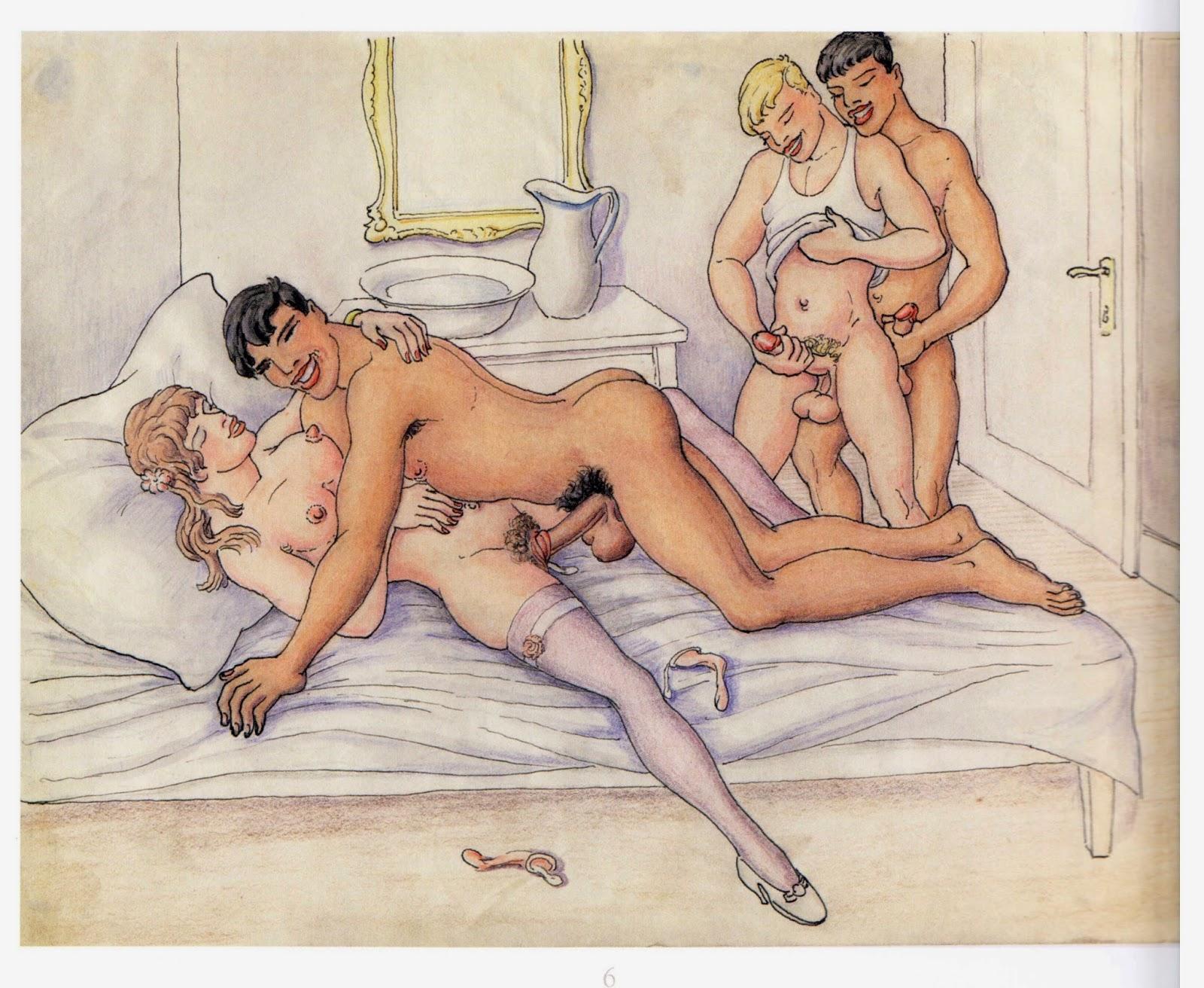 сказала что исторические секс рисунки временем саманта