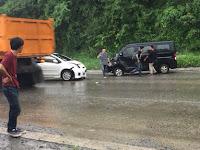 Dua Mobil Terlibat Kecelakaan di Daerah Tarahan Lamsel