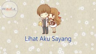 Lirik Lagu Anji Lihat Aku Sayang