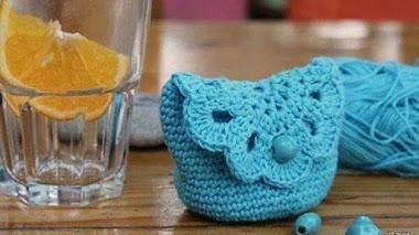 Monedero crochet / tutorial en fotos