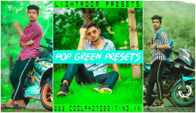 Pop Green Lightroom Presets / Pop Green Lr Mobile Presets