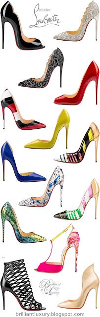 Christian Louboutin Shoe Collection #brilliantluxury