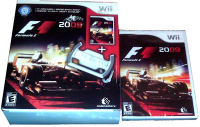 F1 2009 Wii Deluxe Box