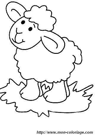 Coloriages A Imprimer Coloriage Mouton