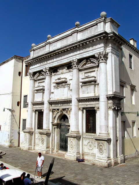 The church of Santa Giustina, Venice.