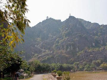 Mountains in Ninh Binh Yen Ma