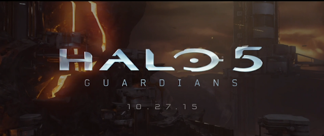 Halo 5 Guardians logo release date Xbox