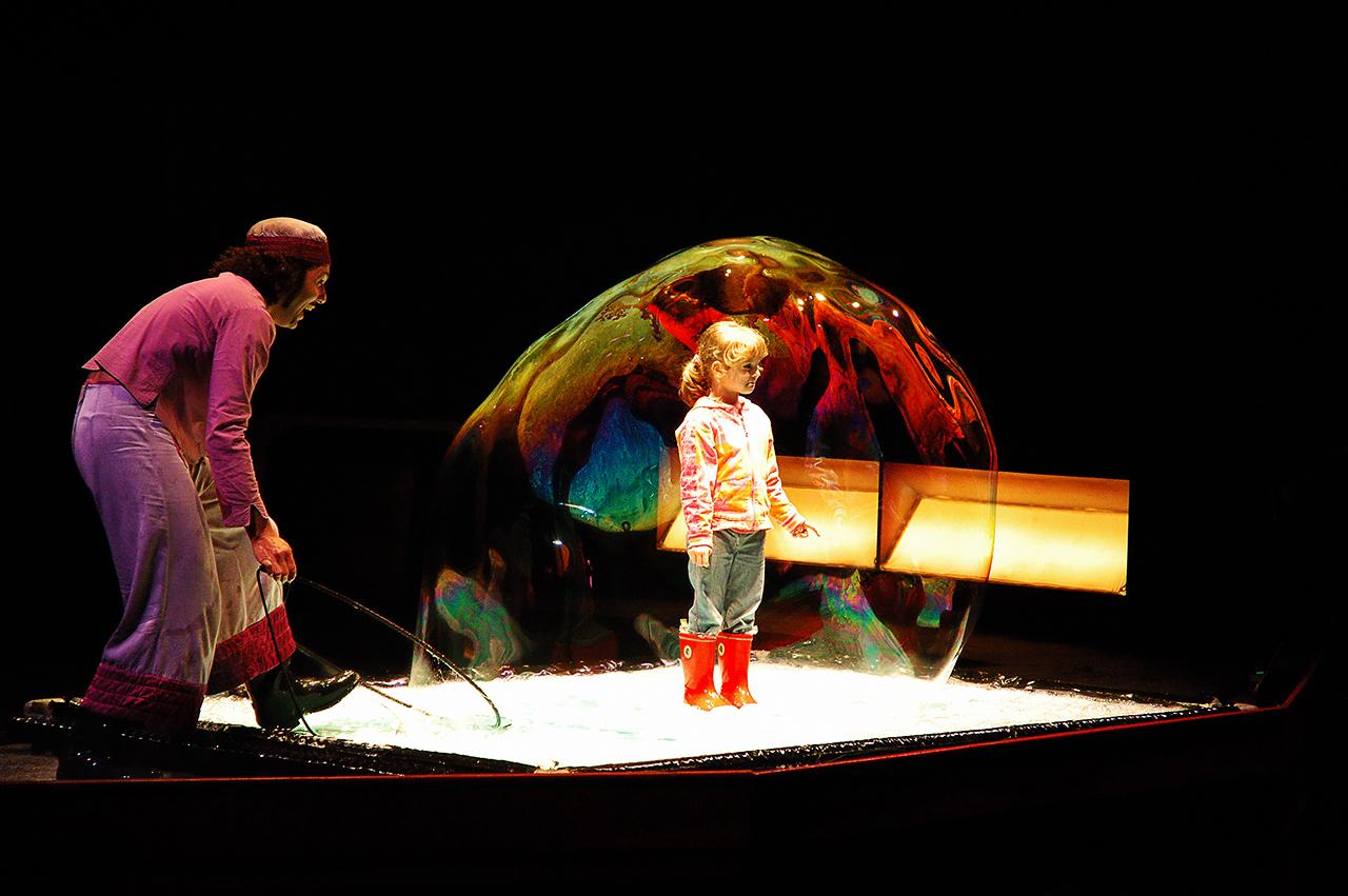 Bubblebou Show by Pep Bou - Port Aventura Amusement Park, Salou