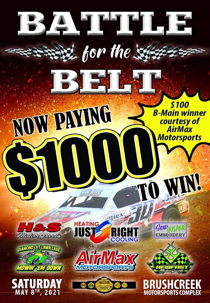 The Diamond Cut Lawn Care Battle for the Belt II Gains Purse Increase Thanks to Generous Sponsors